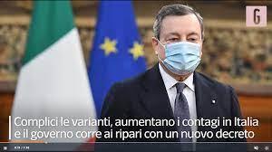 VIDEO Coronavirus, Pasqua in lockdown: il nuovo Decreto Legge anti Covid  del Premier Draghi dal 15 marzo al 6 aprile - Mediagol