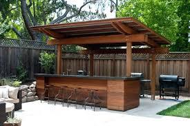 building outdoor bar diy outdoor bar stool plans