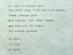 Typed Quote Langston Hughes Poem Typewriter Quote Typed Paper Typewriter Poetry Typed On Paper Hand Typed Poem Rain Quote Poem About Rain