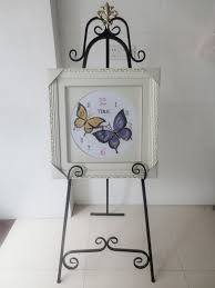 continental iron painting frame painting drawing board stand poster frame display rack wedding parlor in easels from office school supplies on