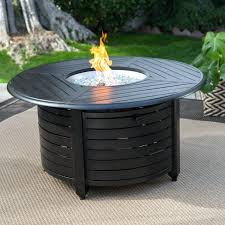 decorative slate tile gas outdoor fire pit with free cover royce table top propane uniflame lp