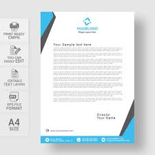 Distinctive Stationery Designs Letterhead Design Template Business Form Letter Template