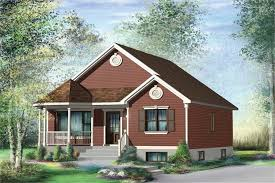 157 1141 2 bedroom 845 sq ft bungalow house plan 157 1141 front