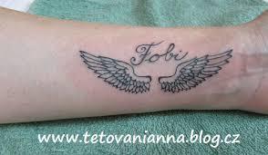 Andělské Křídla Na Zápěstí Dovol Sám Sobě Svobodně žít