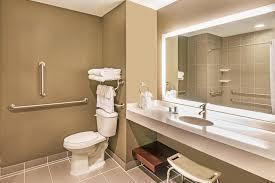 a bathroom at wyndham garden buffalo williamsville