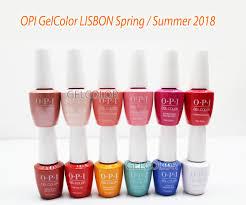 Opi Soak Off Gelcolor Lisbon Collection Kit Gel Polish Color Spring Summer 2018 15ml 0 5oz