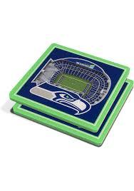 Seattle Seahawks 3d Stadium View Coaster 6860449