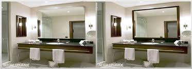 bathroom mirror frame. FRAME ON EXISTING MIRROR Bathroom Mirror Frame