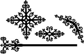 Decorative Victorian Designs Clip Art