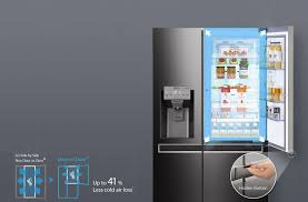 Jb Hi Fi Kitchen Appliances Jb Hi Fi Lg Gs D665bsl Door In Door Side By Side Fridge S Steel