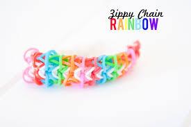 Design Create Inspire Zippy Chain Rainbow Rubber Band