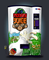 Monkey Vending Machine Adorable Monkey Juice Vending Machine By Renaenae On DeviantArt
