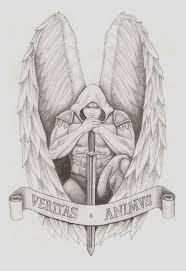 Archangel Tattoo By Spacemunky1979deviantartcom On At Deviantart