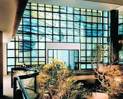 glass wall art courtly evanescence interior view of tempered decoration murale en verre trempe