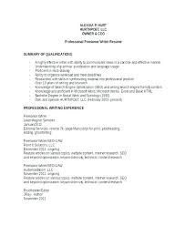 Sample Resume For Freelance Writer Best of Sample Freelance Writer Resume Example Of Technical Writing Resume