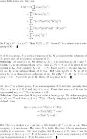 A First Course In Abstract Algebra Solutions Solutions To Topics In Algebra I N Herstein Part Ii Group Theory