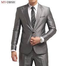 Latest Blazer Designs 2018 2019 Fashion Men Suit 2018 Slim Fit Mens Suits Latest Coat Pant Design Wedding Party Blazer Groom Tuxedos Costume Homme Jacket Pants From Ziron