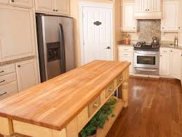 butcher block kitchen island