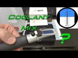 Machine Coolant Concentration Chart Coolant Refractometer