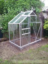 halls popular silver 6x4 greenhouse horti