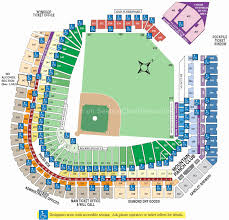 Citi Field Seating Chart Row Numbers 22 Comprehensive Wrigley Field Seating Chart With Rows