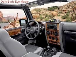 interior trim applique 4 door wrangler