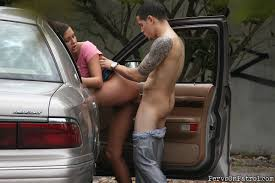 Shaved Teen Ivy Winters from Mofos in Car Image Gallery 22067