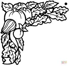 Small Picture Vegetables harvested in September coloring page Free Printable