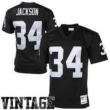 1988 Bo Ness Jersey Oakland amp; Jackson Raiders Retired Mens Replica Mitchell Vintage Black Player