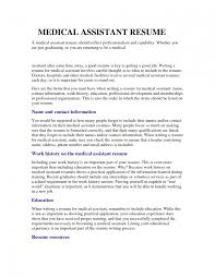 Medical Assistant Resume Objective Samples Ma Resume Objective Corol Lyfeline Co Medical Assistant Objectives 10