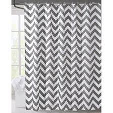 grey chevron shower curtains. Grey Chevron Shower Curtains. LanMeng Geometric Fabric Shower Curtain, Grey  Chevron Off White ( Curtains