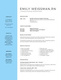 Professional Resume Delectable Professional Licensed Nurse Resume Templates By Canva