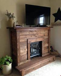 fireplace and tv stand combo pallet fireplace with stand electric fireplace tv stand combo uk