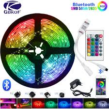 5M-<b>20M 5050</b> 3528 <b>RGB SMD LED</b> Strip Light+Bluetooth controller ...