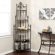 Hanging Bakers Rack Kitchen Kitchen Furniture Bakers Rack Tips In Choosing Kitchen Bakers