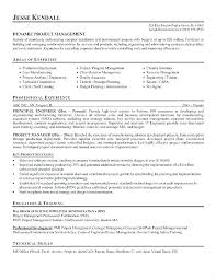 Project Manager Resume Objectives Best of Project Coordinator Sample Resume Project Manager Resume Resume