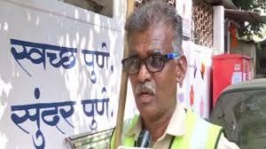 Sanitation Worker Job Description Pune Sanitation Worker Spreads Awareness On Cleanliness