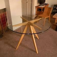 hand made ibi s table base for glass top dining table by antikea custommade com