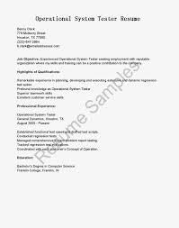 Performance Testing Resume Samples Sample Performance Tester Resume