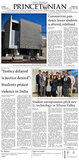 The Daily Princetonian: March 3, 2020 by The Daily Princetonian - issuu