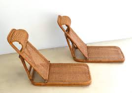 mid century rattan and bamboo beach chairs in excellent condition for in west palm beach