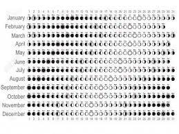 Printable Calendar 2018 Moon Phases Printable Calendar 2020