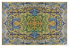 GH285/T03, Tile mural, floor panel, table top -