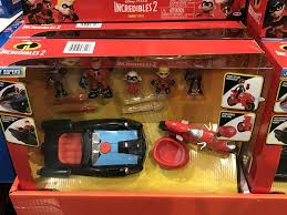 disney pixar incredibles 2 family vehicle set 23 99