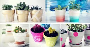 simple diy ways to customize paint terra cotta pots
