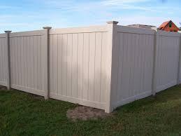 Image Tri Tan Vinyl Privacy Fence Posts Fencing Direct Vinyl Fence