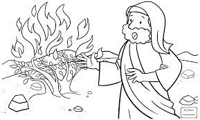Moses Coloring Pages Page 2019 At Agmcme