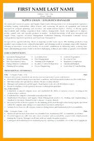 Supply Chain Resumes Awesome Supply Chain Management Resume Sample Executive Mmventuresco