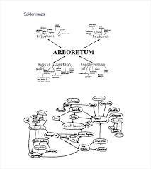 Image From Click To Enlarge Spider Concept Map Template H Street Bus ...
