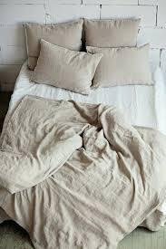 washed linen duvet cover softened linen duvet cover stone washed bedding natural washed linen cotton blend